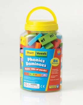 Phonics Dominoes Short Vowels