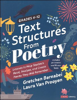 Text Structures from Poetry Grades 4-12