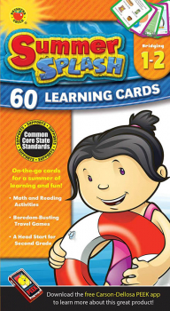 Summer Splash Learning Cards Grades 1-2