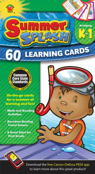 Summer Splash Learning Cards Grades K-1