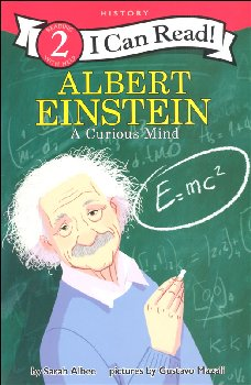 Albert Einstein: A Curious Mind (I Can Read! Level 2)