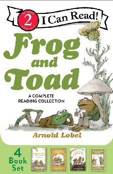 Frog and Toad: Complete Reading Collection (I Can Read Level 2)