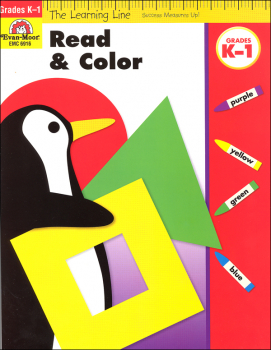 Learning Line Language Arts - Read and Color K-1