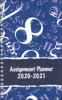 Student Assignment Planner Numbers August 2020 - August 2021