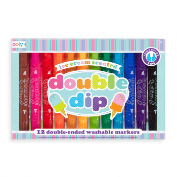 Double Dip Scented Markers (Set of 12)