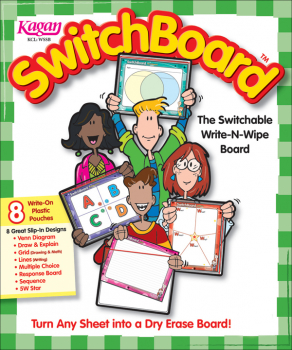 SwitchBoard (single) Switchable Write-N-Wipe