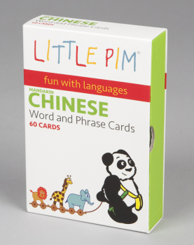 Little Pim Chinese Word & Phrase Cards (Flashcards) Volume 1