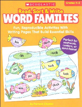 Read, Sort & Write Word Families