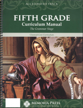 Accelerated Fifth Grade Curriculum Manual