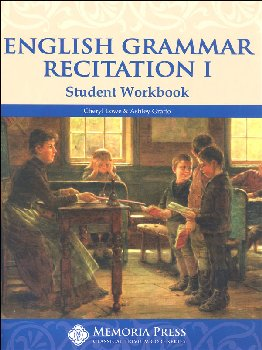 English Grammar Recitation Workbook I Student Book
