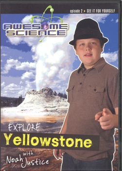 Awesome Science Episode 2: Explore Yellowstone DVD
