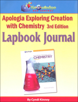 Apologia Exploring Creation with Chemistry 3rd Edition Lapbook Printed