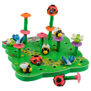 Bright Basics Peg Garden