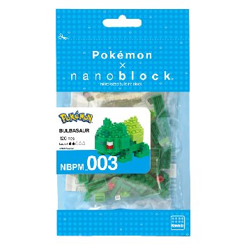 Nanoblock - Bulbasaur Pokemon