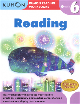Kumon Reading Workbook - Grade 6