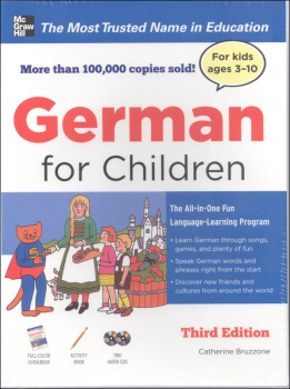 German for Children With Three Audio CDs