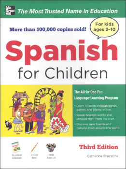 Spanish for Children With Three Audio CDs