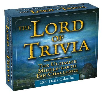 Lord of Trivia 2021 Daily Calendar