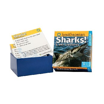 Smithsonian Sharks & Sea Creatures Trivia Game