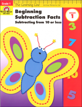 Learning Line Math - Beginning Subtraction Grade 1