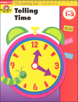 Learning Line Math - Telling Time Grades 1-2