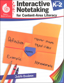 Interactive Notetaking for Content-Area Literacy Level K-2