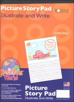 Picture Story Pad (80 sheets)