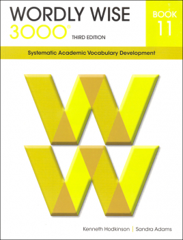 Wordly Wise 3000 3rd Edition Student Book 11
