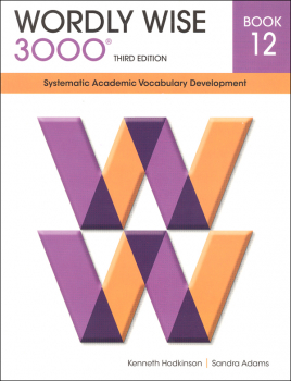 Wordly Wise 3000 3rd Edition Student Book 12