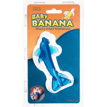 Baby Banana Sharky Infant Toothbrush