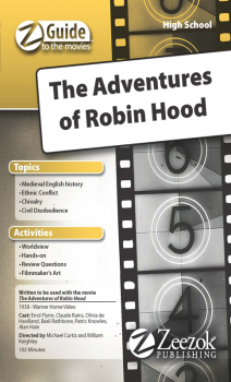 Z Guide to the Movies - Adventures of Robin Hood CD-ROM