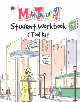 MathTacular 4 Student Workbook & Tool Kit
