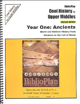 BiblioPlan: Ancient Cool History Upper Middles