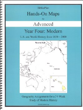 BiblioPlan: Modern American/World Hands On Maps Advanced