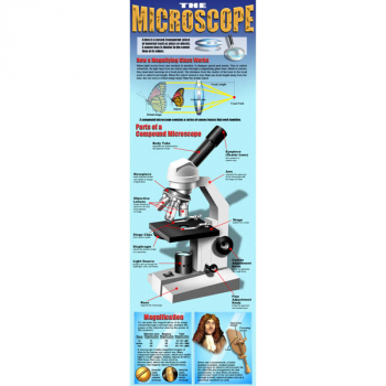 Microscope Colossal Poster