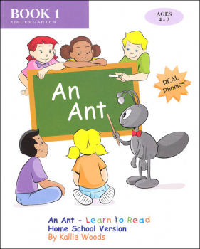 An Ant - Learn to Read Home School Version Book 1