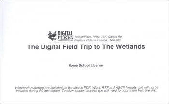 Digital Field Trip to the Wetlands CD