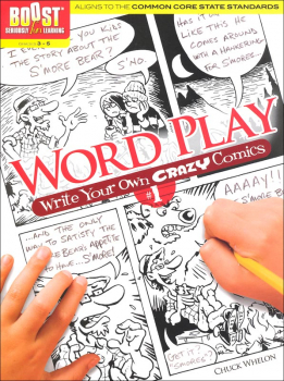 Word Play! Write Your Own Crazy Comics # 1 (Boost Series)