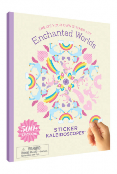 Sticker Kaleidoscope Book - Enchanted Worlds