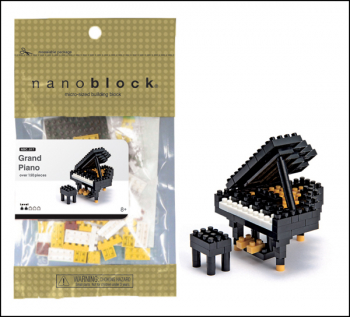 Nanoblock Musical - Grand Piano