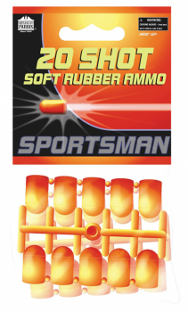Soft Rubber Ammo (Sportsman & Hawken Air Soft Guns Ammunition)