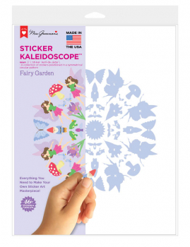 Sticker Kaleidoscope - Fairy Garden (single)