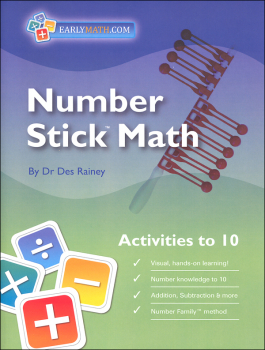Number Stick Activities to 10