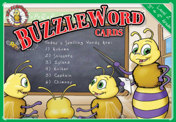 Buzzlewords: The Spelling Bee Game Cards Level 2