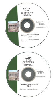 Latin in the Christian Trivium Volume II Pronunciation CD