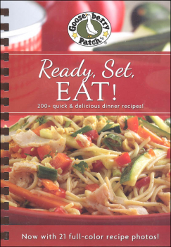 Ready, Set, Eat! Cookbook with Photos
