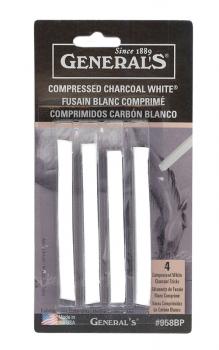 Charcoal White Sticks (4 sticks per package)