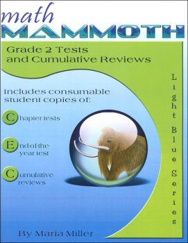 Math Mammoth Light Blue Series Grade 2 Tests & Reviews
