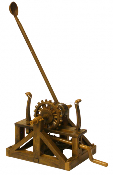 Leonardo da Vinci Kit - Catapult