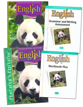 Houghton Mifflin English: Grade 1 Homeschool Kit